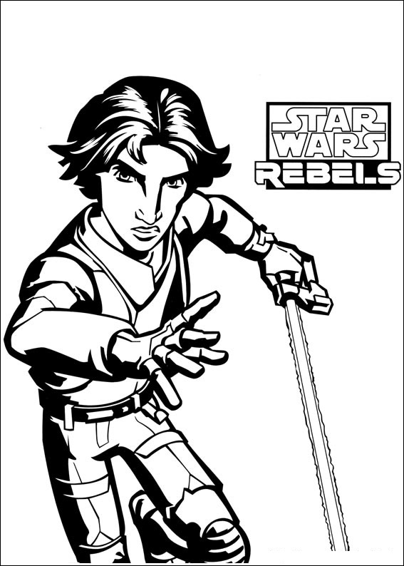 567x794 Top Star Wars Coloring Pages Online Free