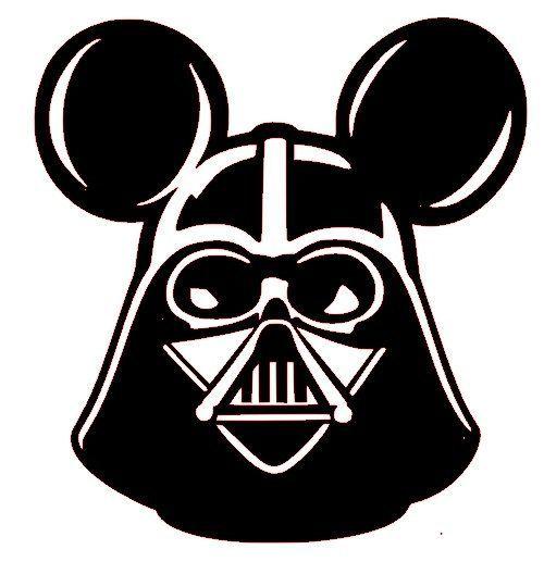 500x517 Darth Vader Mickey Mouse