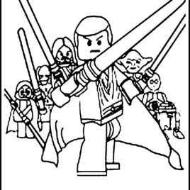 268x268 Lego Star Wars Coloring Sheets Az Coloring Pages Star Wars