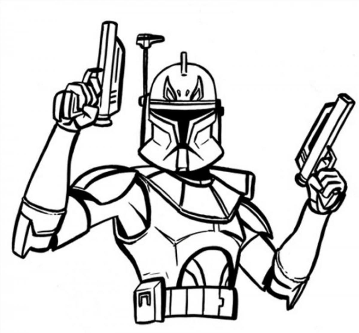 1200x1114 Wonderful Captain Rex Star Wars Colouring Pages,star Wars Coloring