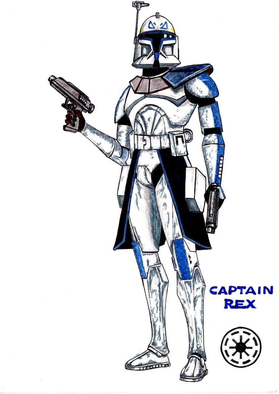 900x1272 Captain Rex By Bondmartini