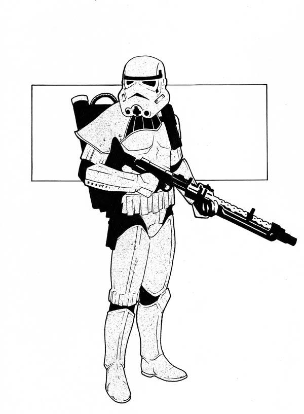 600x816 Star Wars Stormtrooper Clipart
