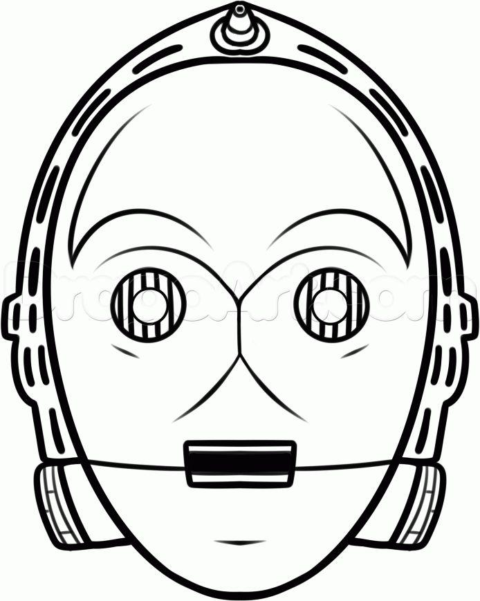 694x869 Star Wars Clipart Face