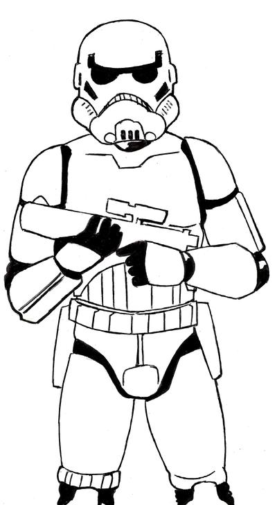 400x728 Star Wars Stormtrooper By Dmtr1981