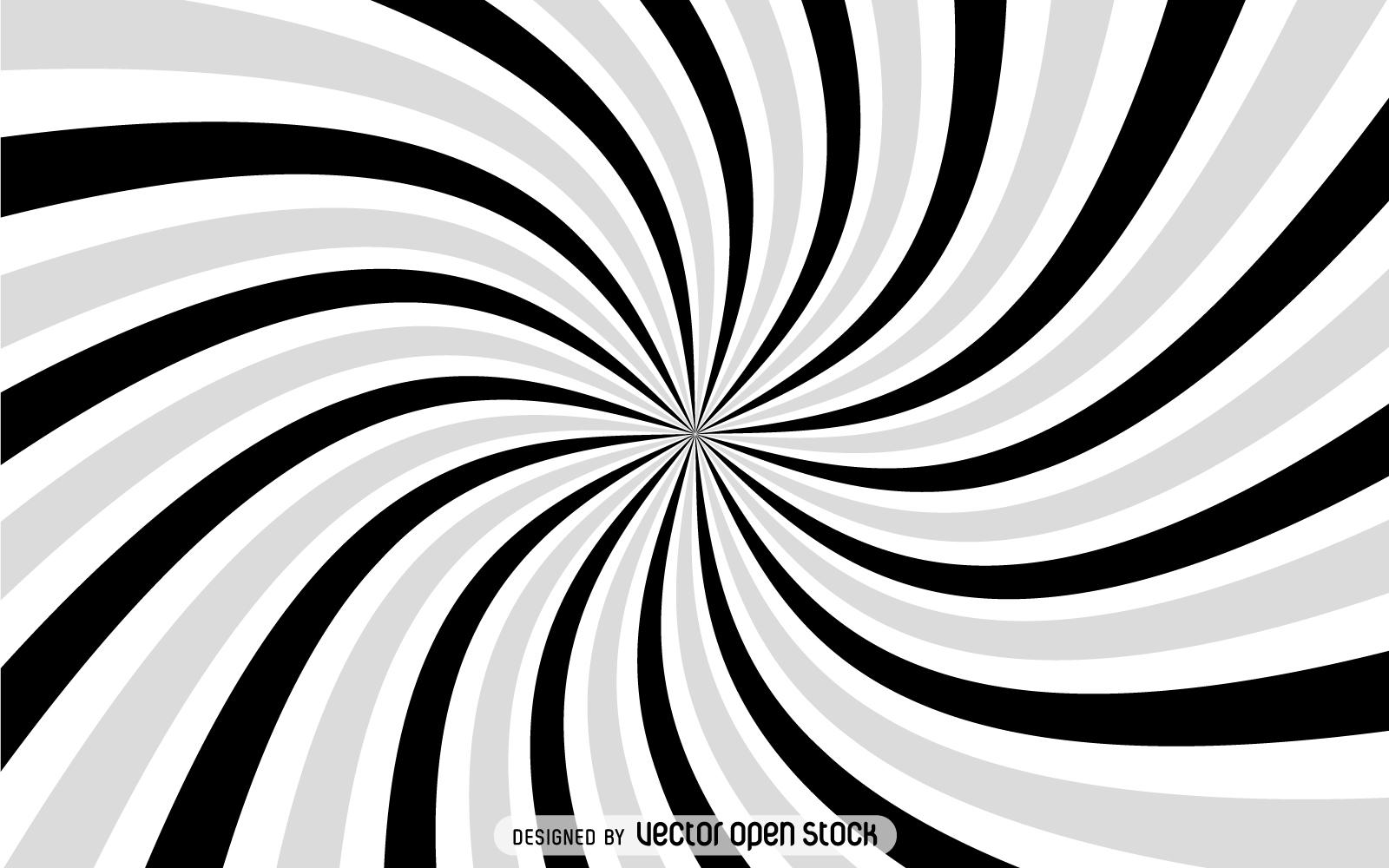1600x1000 Gray Spiral Starburst Background