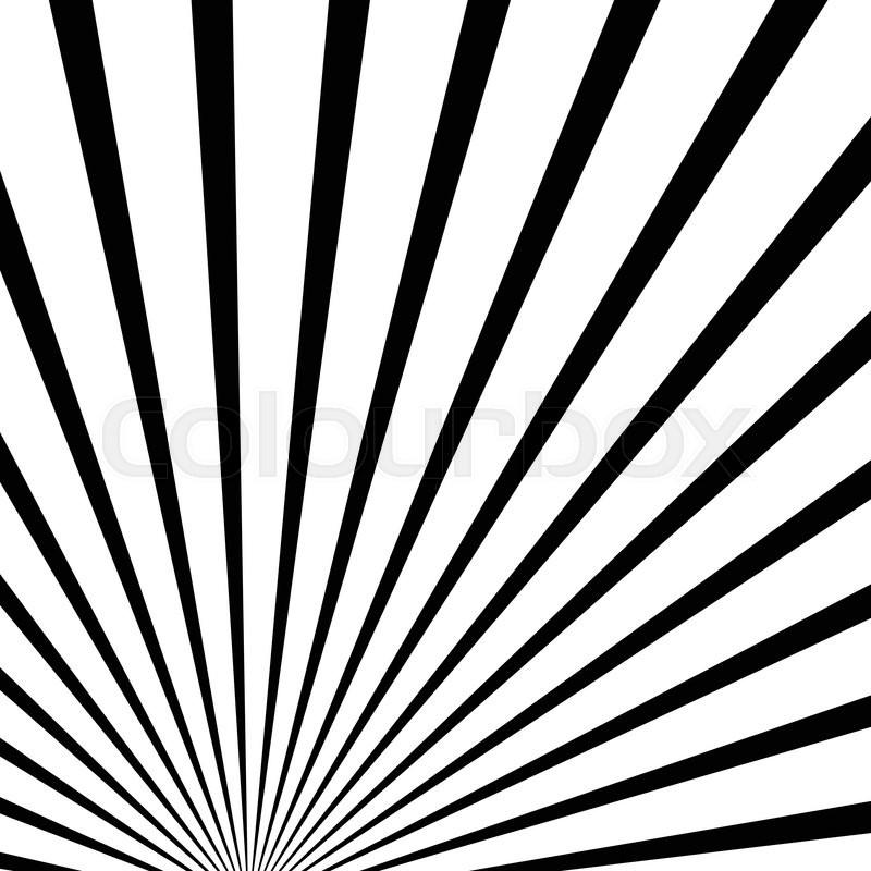 800x800 Starburst Sunburst Banner Background In 4 Color. Converging