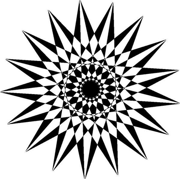 600x599 Starburst Candy Clipart Black And White