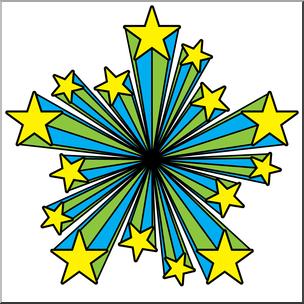 304x304 Clip Art Starburst 02 Color 01a I Abcteach