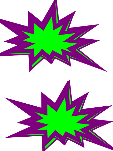 450x599 Free Starburst Clip Art