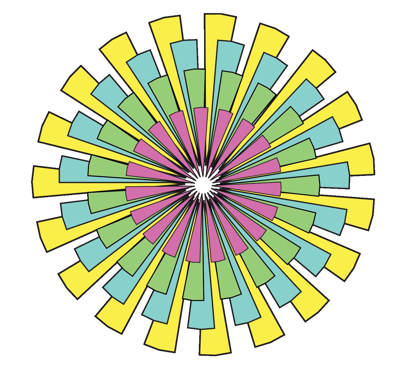 1331x1255 Clip Art Tikigiki Abstract Starburst 1 Flower