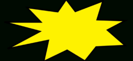 272x125 Free Starburst Clipart Pictures