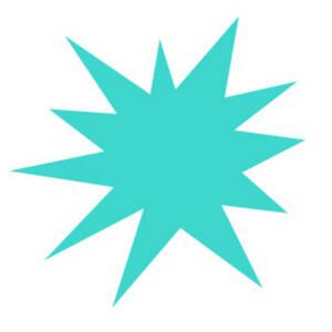 300x300 Free Starburst Clip Art