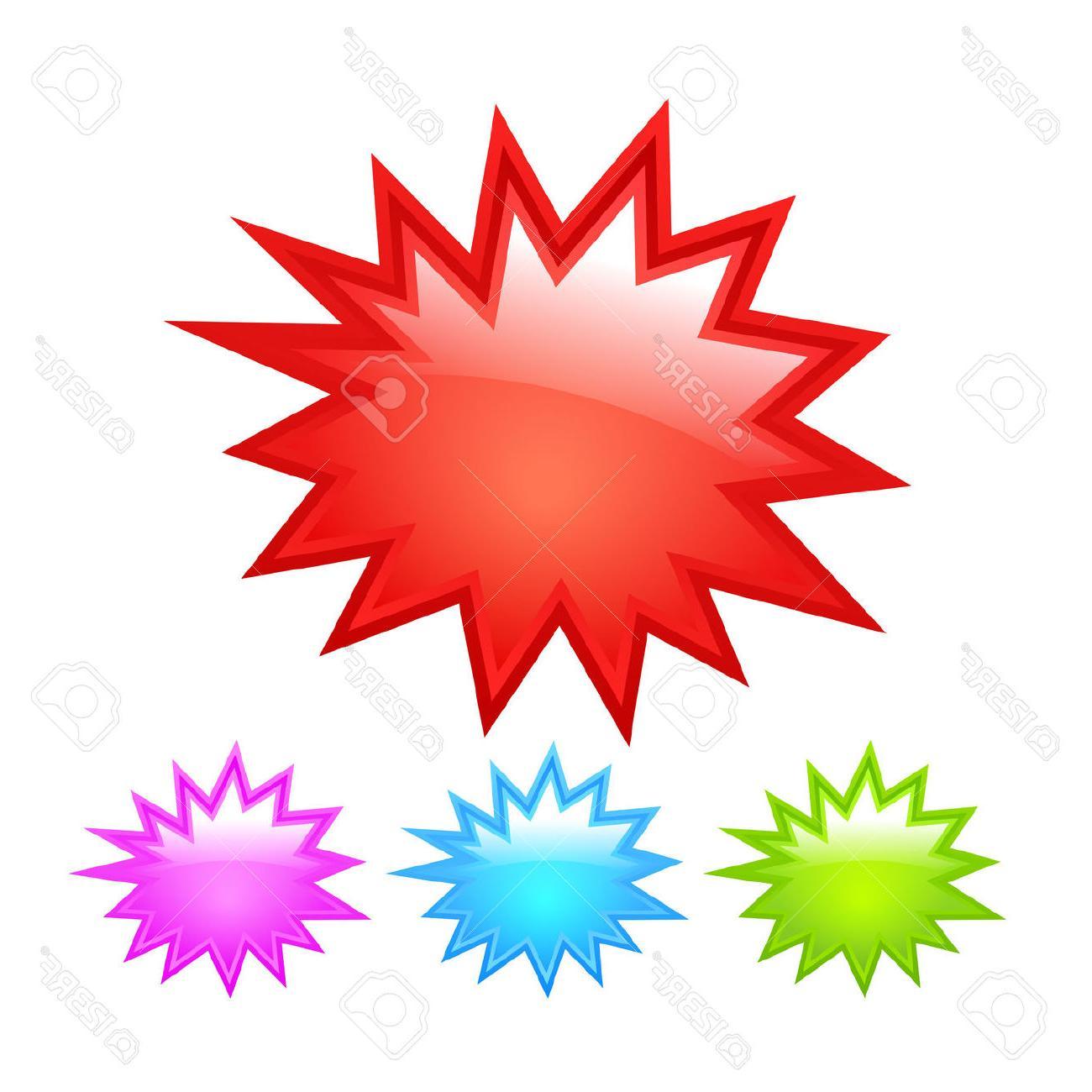 1300x1300 Hd Starburst Icon Stock Vector Burst Star File Free