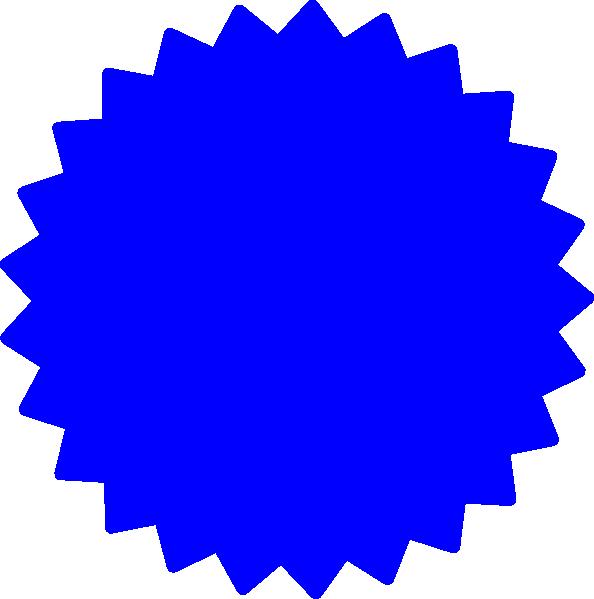 594x599 Starburst Outline Clip Art