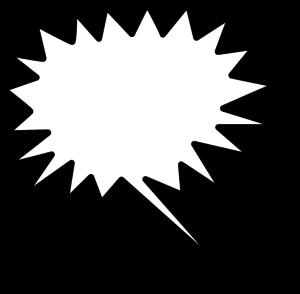 300x294 Explosion Clip Art Tumundografico