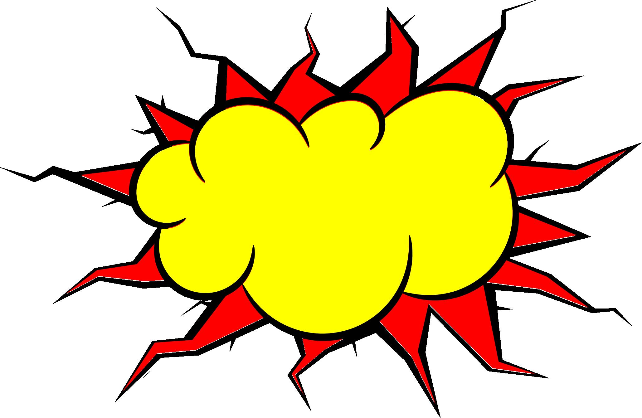 2058x1340 5 Comic Explosion Bubble (Png Transparent, Svg Vector)