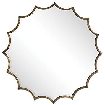 355x355 Uttermost 12841 San Mariano Starburst Mirror Home