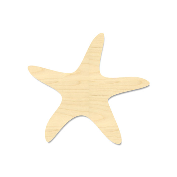 570x570 Starfish Cut Out Shape Sea Star Cut Out Shape Unfinished
