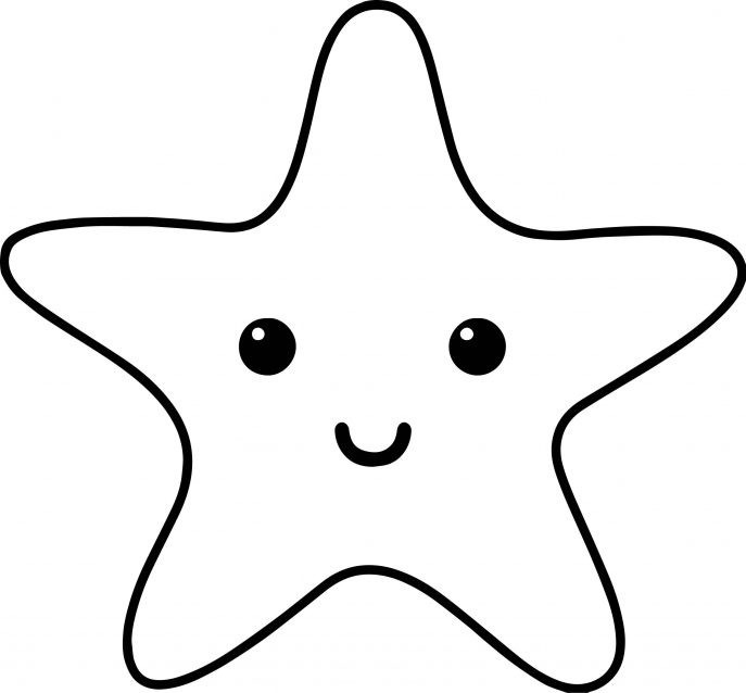 Starfish Outline | Free download on ClipArtMag