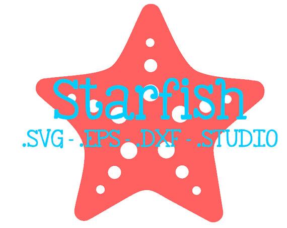 570x454 Starfish Svg Starfish Dxf Starfish Eps Starfish