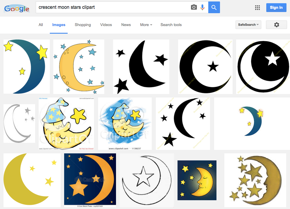 990x714 Moon Clipart Star And Crescent