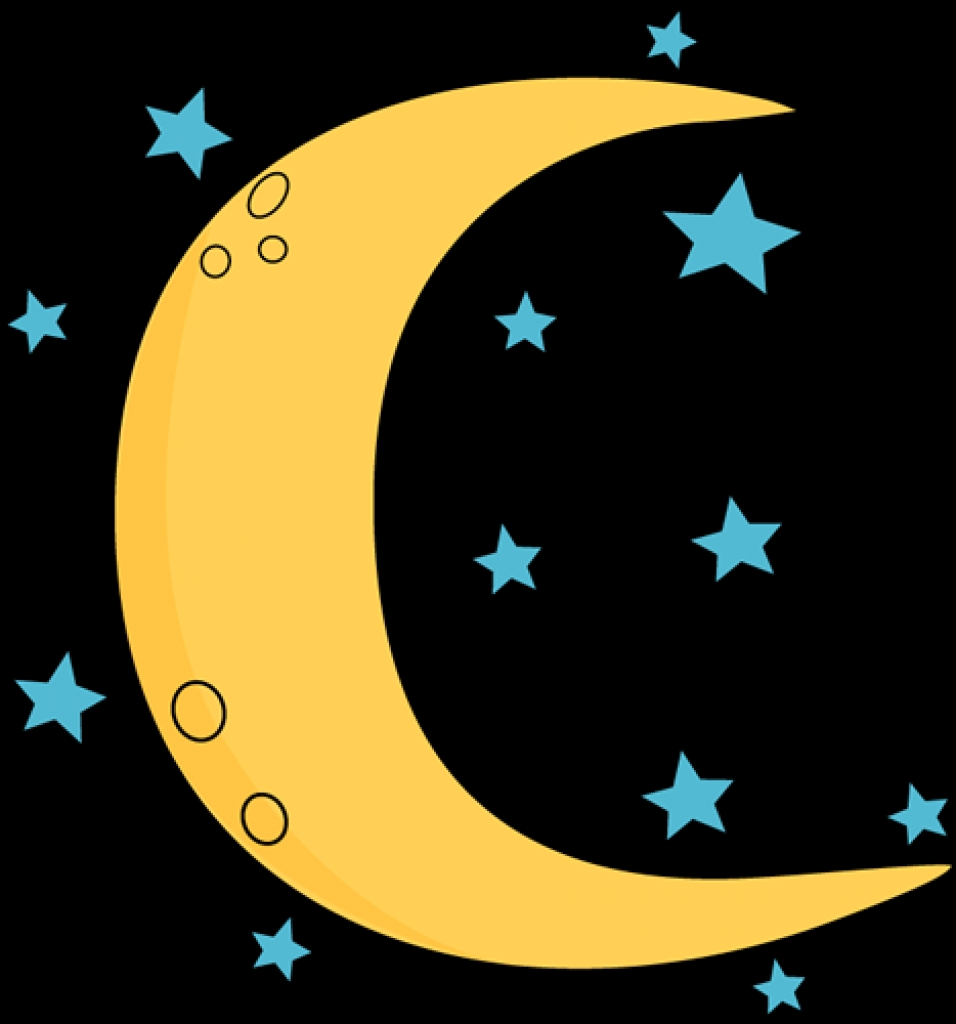 956x1024 Crescent Moon And Stars Clip Art Crescent Moon And Stars Imagetop