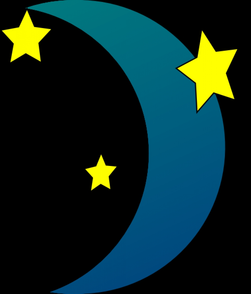 874x1024 Moon And Stars Clip Art Clipartsco10 Png Moon And Stars Clip Art