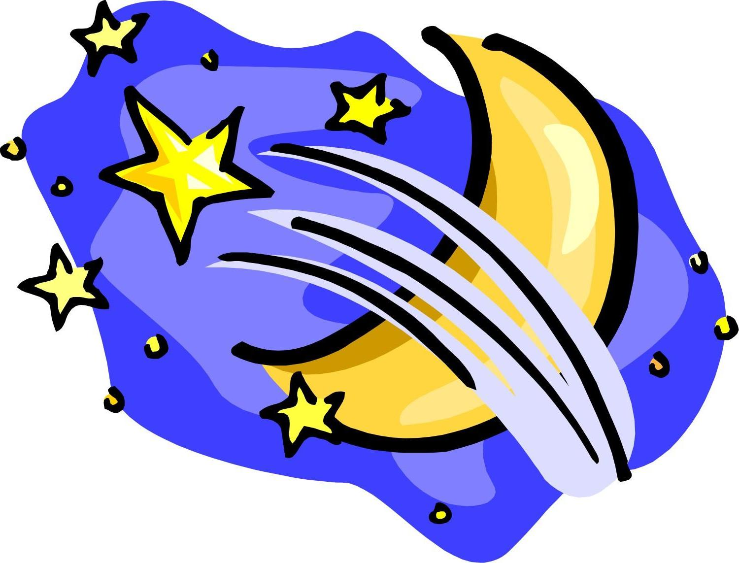1500x1143 Best Moon And Stars Clip Art Library Free Vector Art, Images