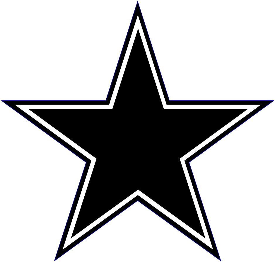 939x894 Star Clipart Black And White