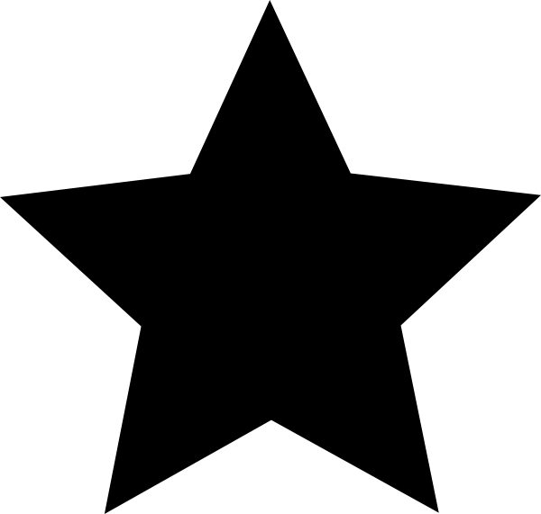 600x571 Star black and white star clipart black and white free images