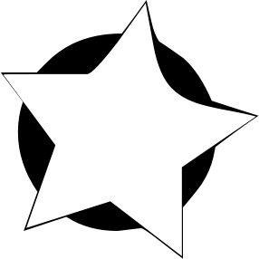286x286 Stars Clipart White Background