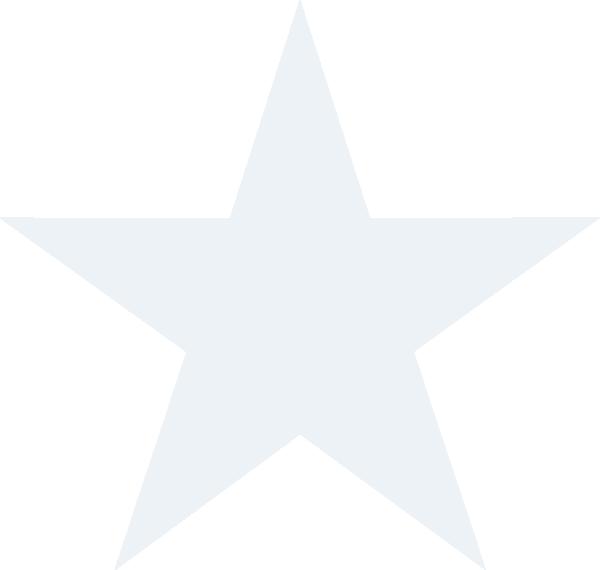 600x570 White Stars Clipart
