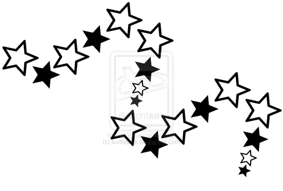 900x609 windows Black and White Stars
