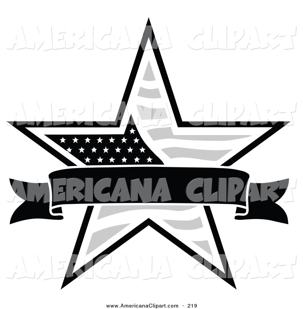1024x1044 Americana Vector Clip Art of a Patriotic American Star with a