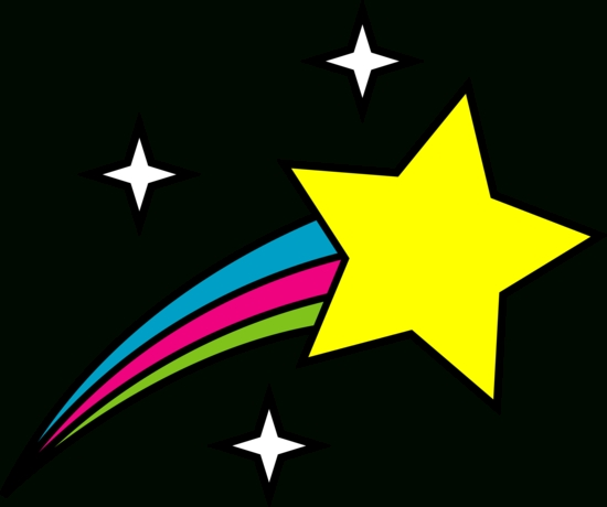 550x460 Top 10 Shooting Stars Clipart