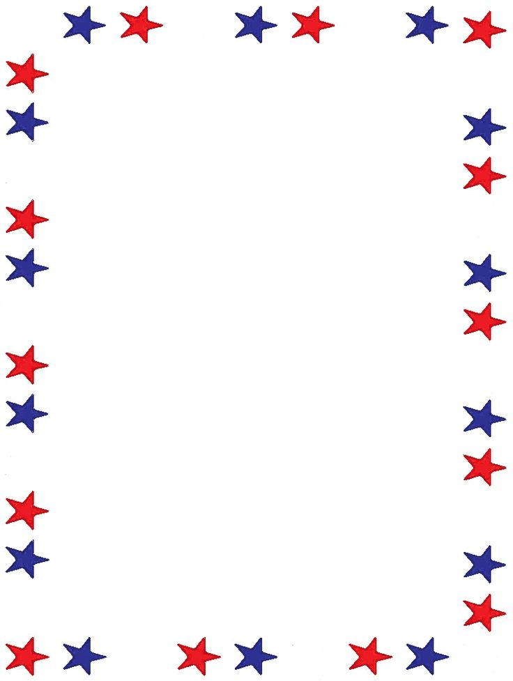 736x977 4th Of July Clip Art Borders – 101 Clip Art