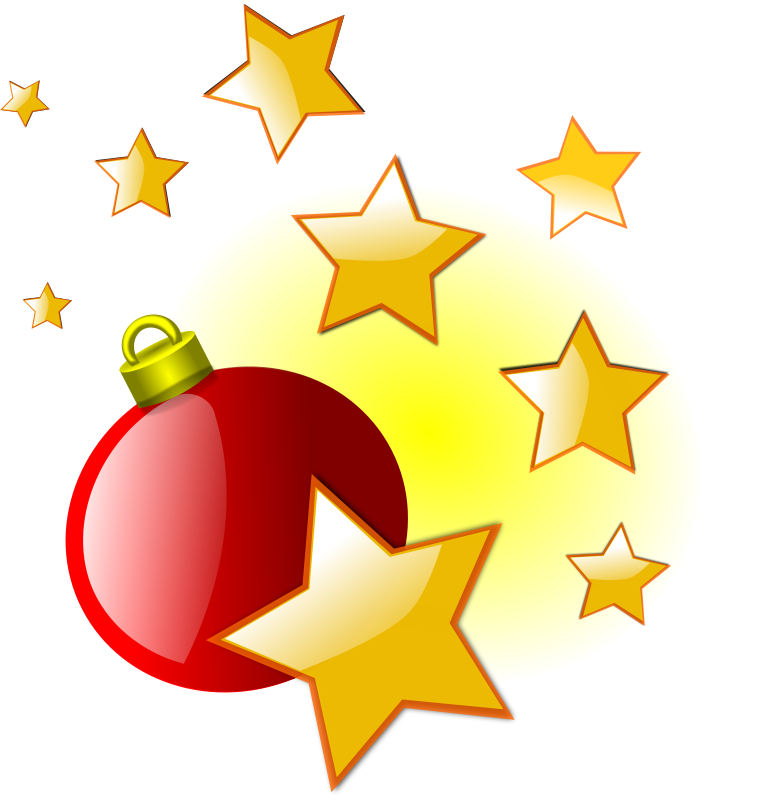 764x800 Free Christmas Star Clip Art Image Christmas Star With A Santa
