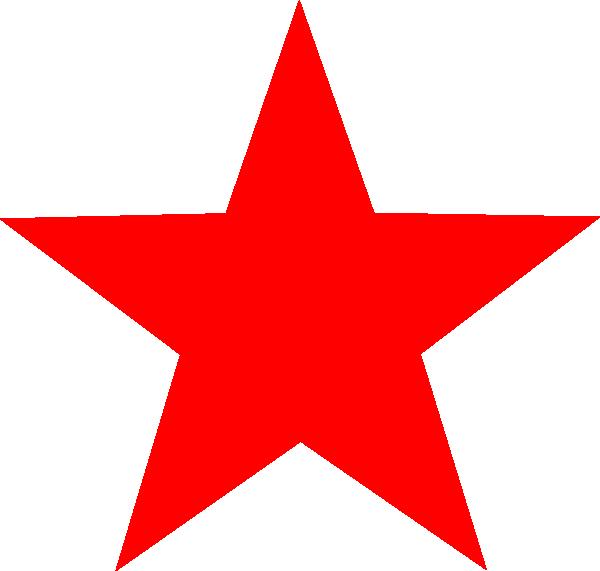 600x571 Red Star Clip Art