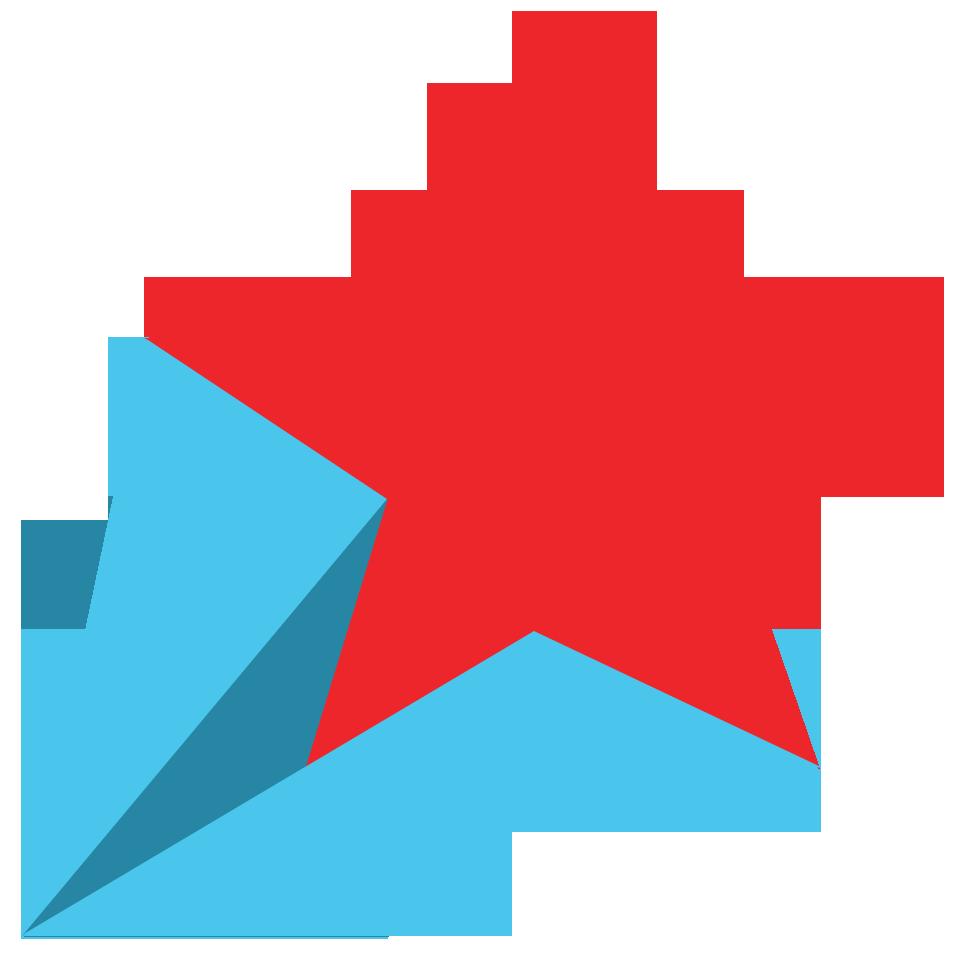 969x966 Red Star Clip Art Cliparts