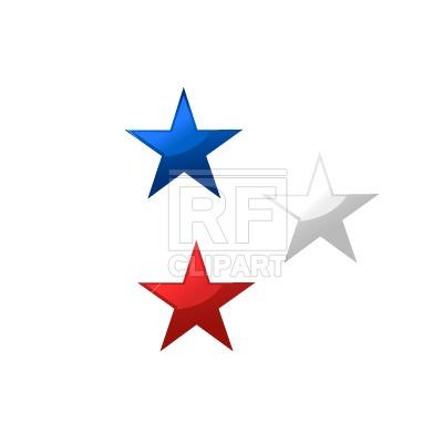 400x400 Shiny Stars Free Vector Clip Art Image