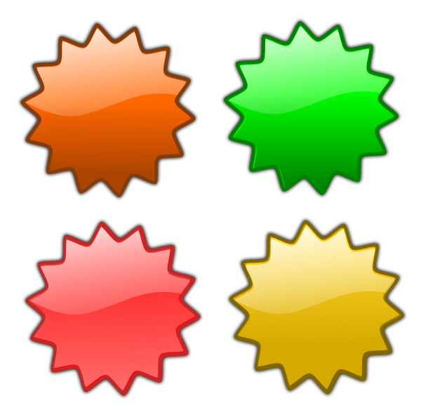 600x594 Stars 5 PNG Clip arts for Web