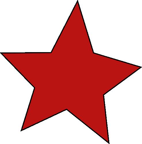 494x500 Clip Art Stars