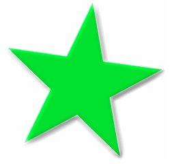 249x240 Free Green Star Clipart