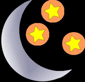 299x288 Moon Clip Art