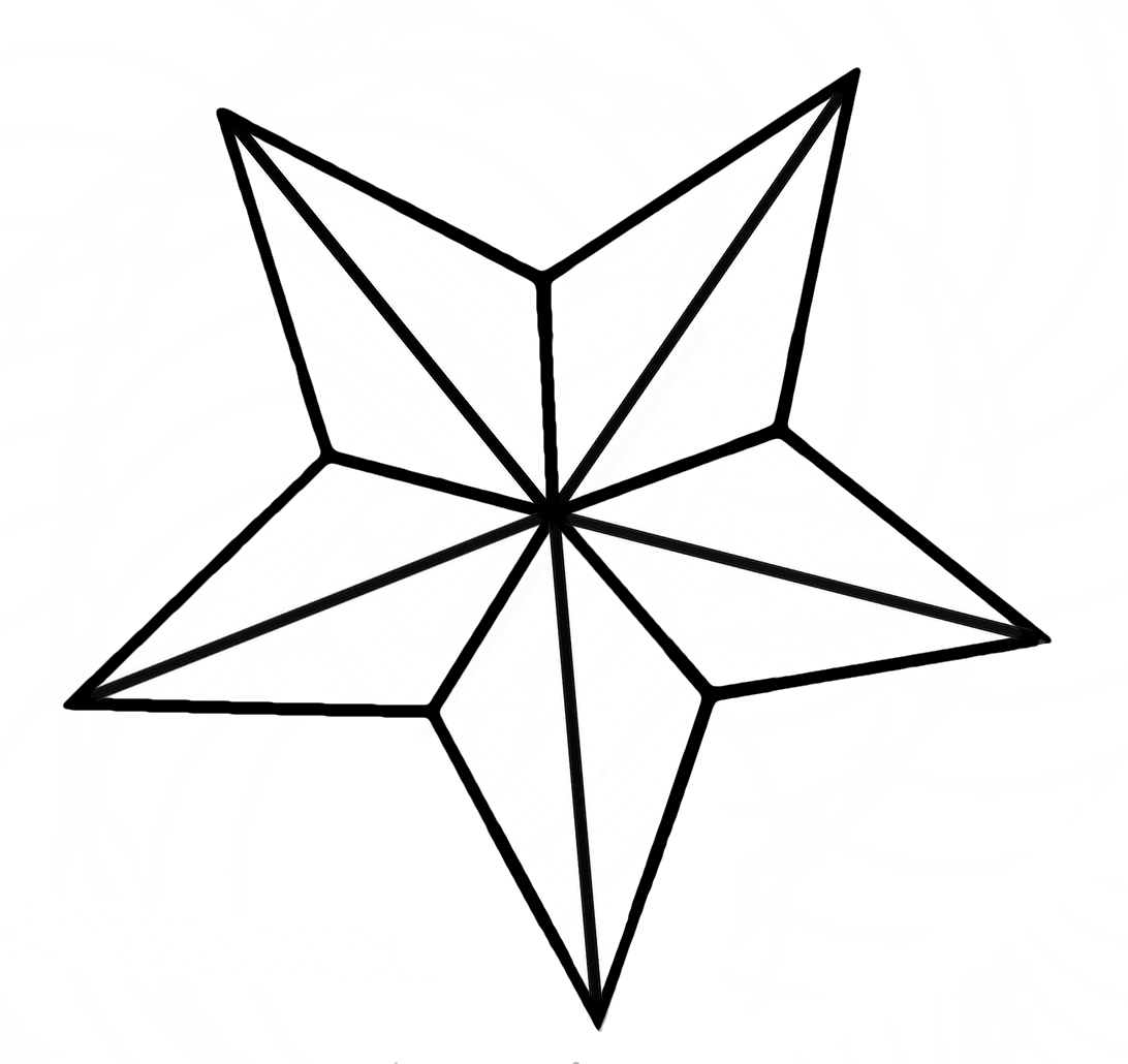 1092x1030 Nautical Star Clipart