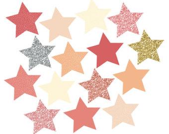 340x270 Stars Clipart Glitter
