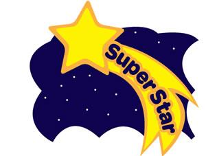 300x227 Super Star Clip Art Cliparts