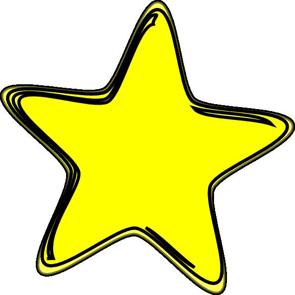 594x595 Yellow Star2 Clip Art