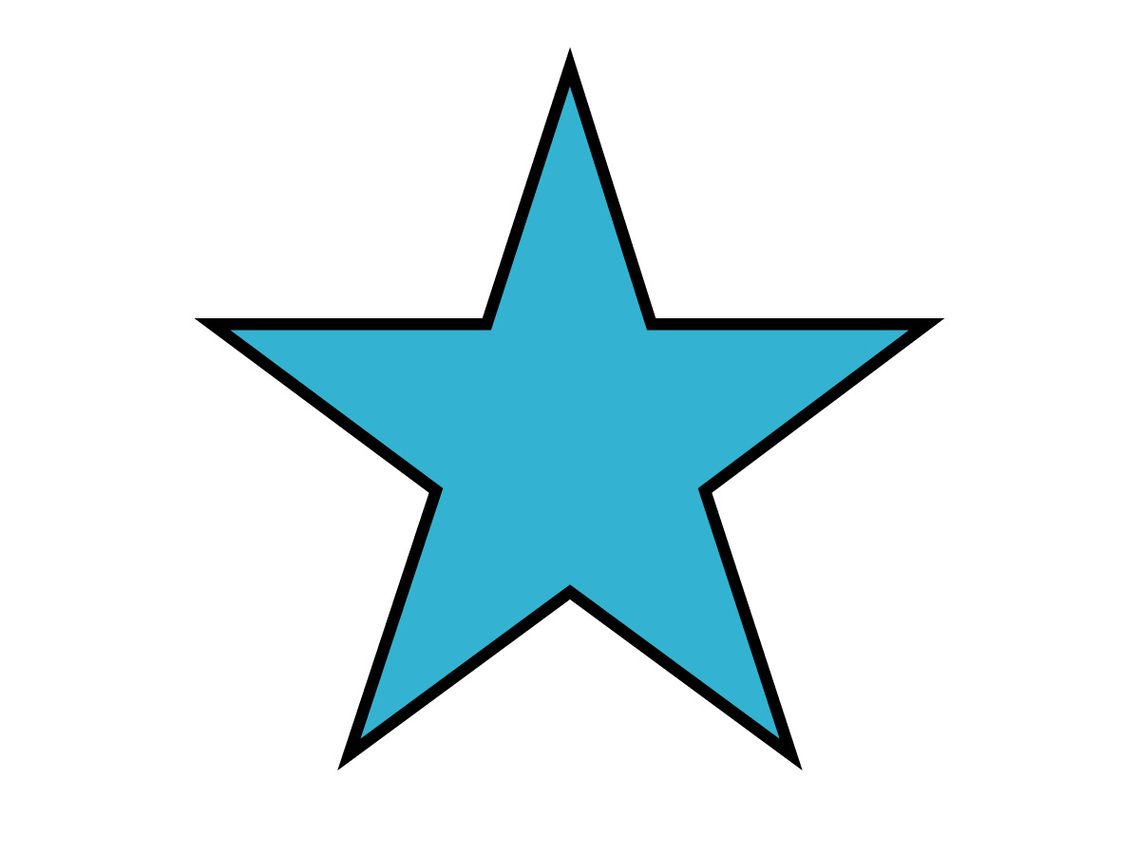 1140x855 star clipart