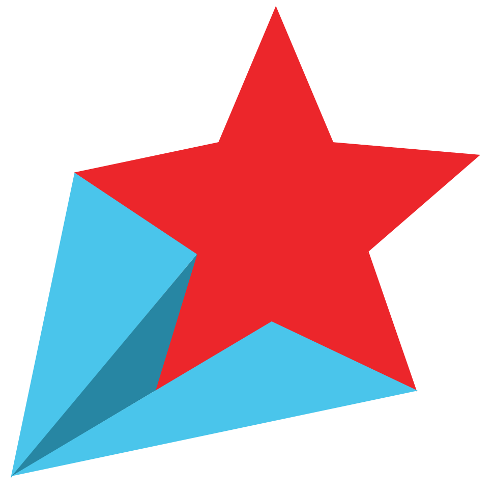 969x966 Falling Stars clipart all star